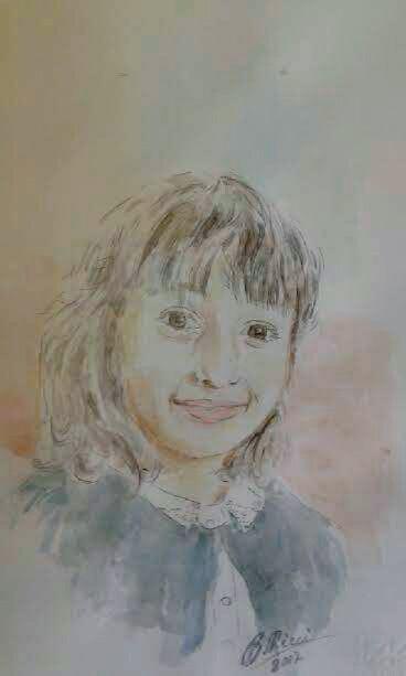 Alessia acquarello 2017